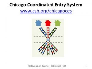 Chicago Coordinated Entry System www csh orgchicagoces Follow