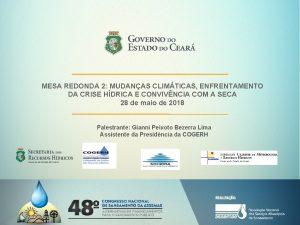 MESA REDONDA 2 MUDANAS CLIMTICAS ENFRENTAMENTO DA CRISE