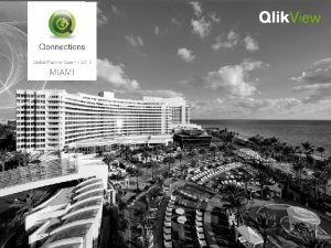 Best Practices Data modeling in Qlik View Marcus