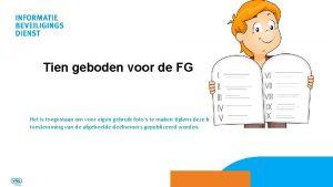Tien geboden voor de FG Het is toegestaan