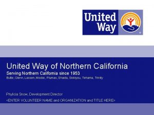 United Way of Northern California Serving Northern California