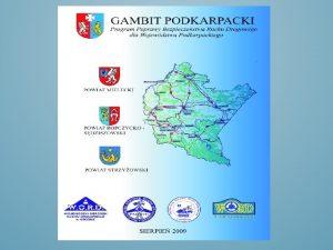 Program Poprawy Bezpieczestwa Ruchu Drogowego GAMBIT PODKARPACKI jest