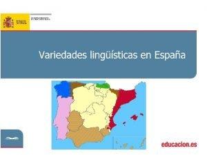 ndice Las lenguas oficiales de Espaa Castellano o