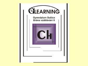 Kyslk sloueniny CH3 Anorganick chemie DUM 9 2