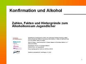 Konfirmation und Alkohol Zahlen Fakten und Hintergrnde zum