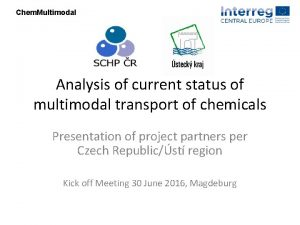 Chem Multimodal Analysis of current status of multimodal