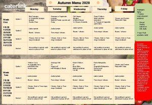 Autumn Menu 2020 Monday Week One 1920 14920