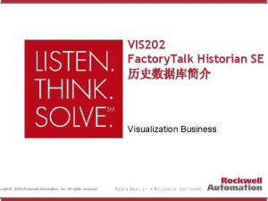yright 2010 Rockwell Automation Inc All rights reserved