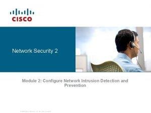 Network Security 2 Module 2 Configure Network Intrusion