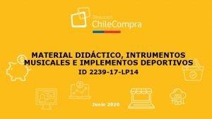 MATERIAL DIDCTICO INTRUMENTOS MUSICALES E IMPLEMENTOS DEPORTIVOS ID