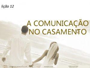 lio 12 A COMUNICAO NO CASAMENTO EDITORA CULTURA