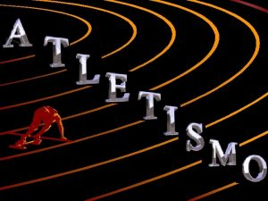 Atletismo Corridas de Velocidade Estafetas Salto em Comprimento