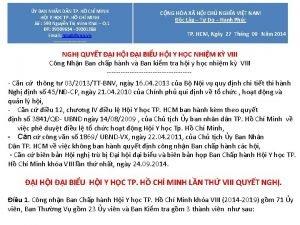 CNG HA X HI CH NGHA VIT NAM