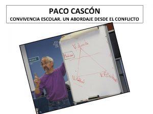 PACO CASCN CONVIVENCIA ESCOLAR UN ABORDAJE DESDE EL