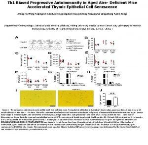 Th 1 Biased Progressive Autoimmunity in Aged Aire