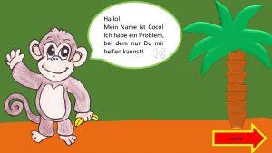 Hallo Mein Name ist Coco Ich habe ein