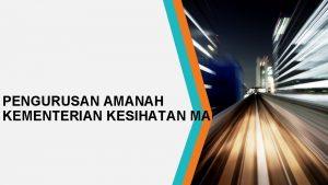 PENGURUSAN AMANAH KEMENTERIAN KESIHATAN MALAYSIA KOD CARTA AKAUN
