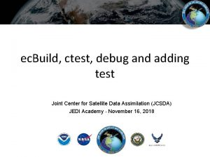 ec Build ctest debug and adding test Joint