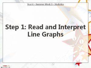 Year 6 Summer Block 3 Statistics Step 1