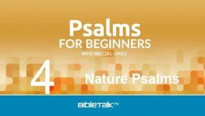 4 MIKE MAZZALONGO Nature Psalms Review Host Psalms