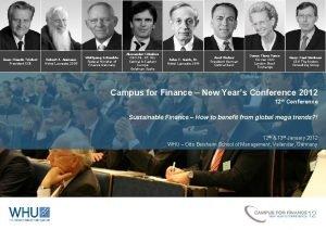 JeanClaude Trichet President ECB Robert J Aumann Nobel