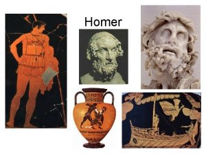 Homer Important Terms Hero Epic Heroic Poetry Iliad