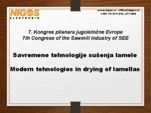 7 Kongres pilanara jugoistone Evrope 7 th Congress