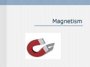 Magnetism History of Magnets n n 800 BC