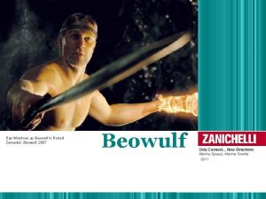 Ray Winstone as Beowulf in Robert Zemeckis Beowulf