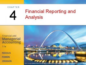 4 Financial Reporting and Analysis Foundations of Financial