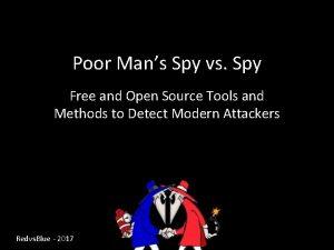 Poor Mans Spy vs Spy Free and Open