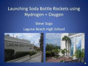 Launching Soda Bottle Rockets using Hydrogen Oxygen Steve