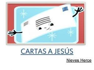 CARTAS A JESS Nieves Herce Cartas a Jess