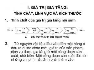 I GI TR GIA TNG TNH CHT LNH