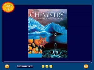Topic 16 Topic 16 Table of Contents Topic