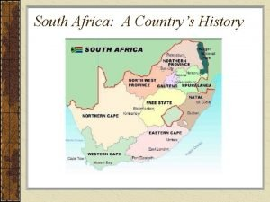 South Africa A Countrys History Native Cultures of