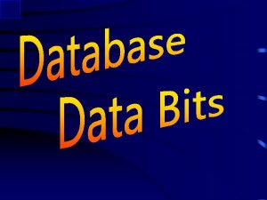 Data Bits Many to Many Subkeys Joins Queries