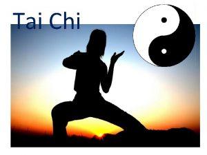 Tai Chi Was ist eigentlich Tai Chi Taiji