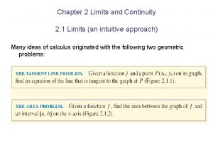 Chapter 2 Limits and Continuity 2 1 Limits