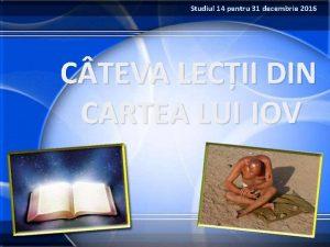 Studiul 14 pentru 31 decembrie 2016 C TEVA