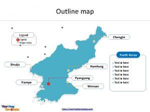 Outline map Legend Chongjin Capital Major cities North