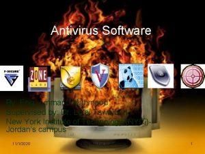 Antivirus Software By Eng Ammar J Mahmood Supervised