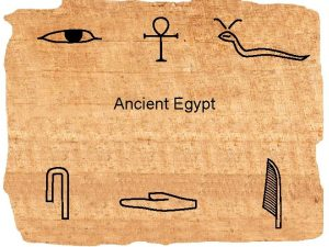 Ancient Egypt Land of Egypt Today desert covers