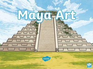 Who Were the Maya The Maya were a