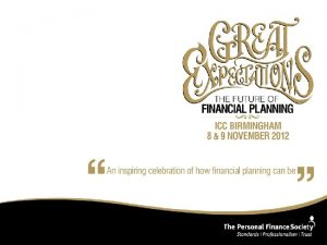 TRUSTEE INVESTMENT PLANNING The reasons to incorporate trustee