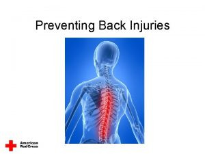 Preventing Back Injuries Reduce Your Risk of Back