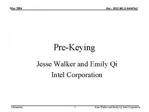 May 2004 doc IEEE 802 11 040476 r
