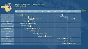 Project Management Conferences 2020 North America Mar Apr