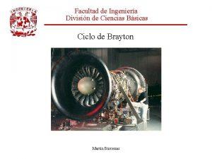 Facultad de Ingeniera Divisin de Ciencias Bsicas Ciclo