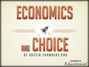 Overview The relationship between economics and scarcity Why